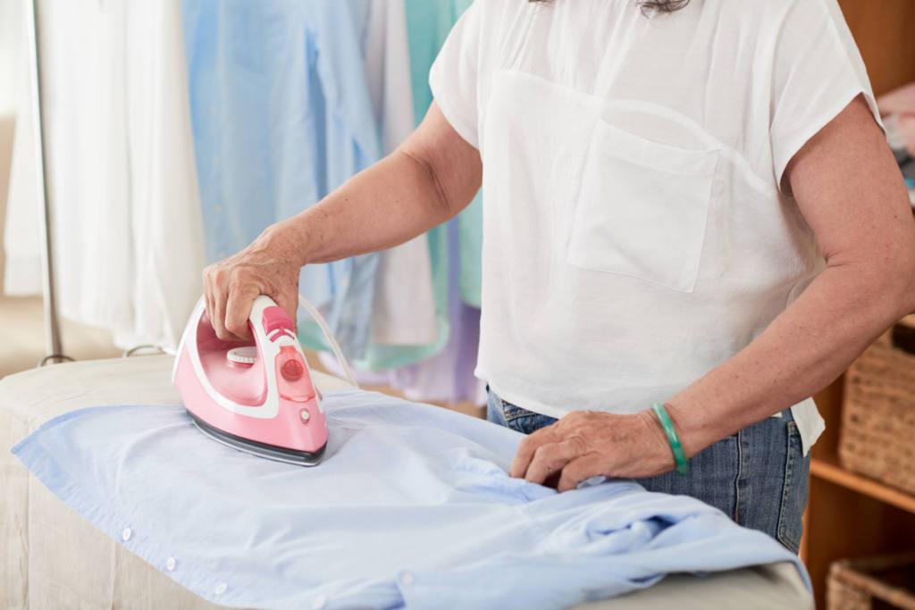 Atenção na hora de passar as suas roupas