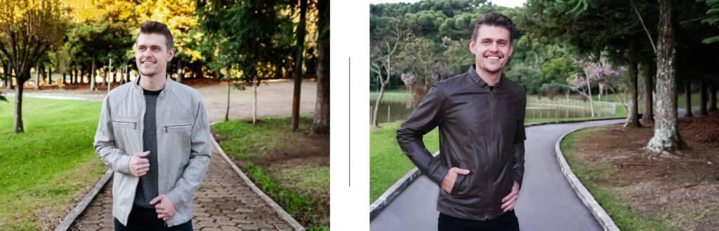A Hyck Gregorios Couros tem opções lindas de jaquetas de couro para o seu Pai