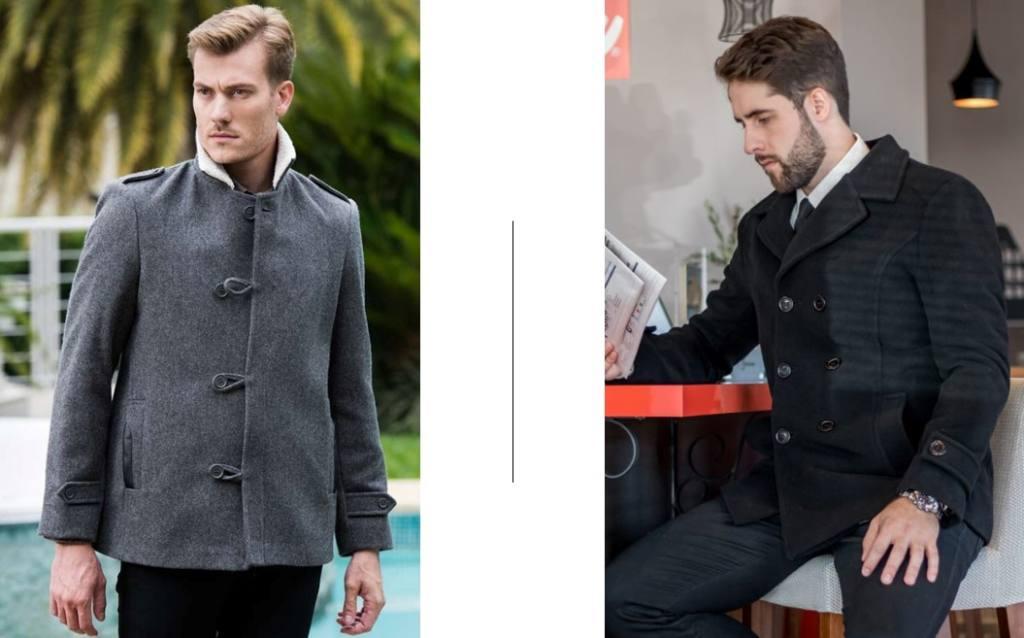 Esquerda: Rigotto | Direita: Moni Casacos de Lã são opções quentinhas para os Pais