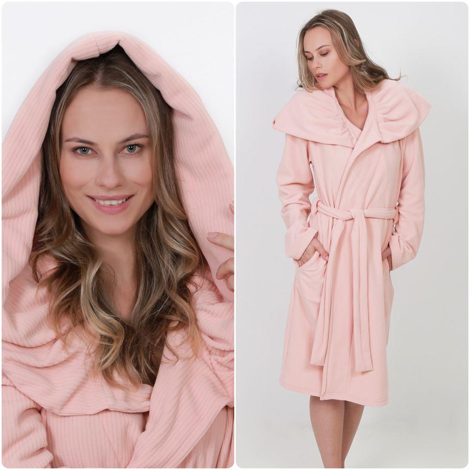 D´Marju Sleepwear tem opções de robe feminino, masculino e infantil.