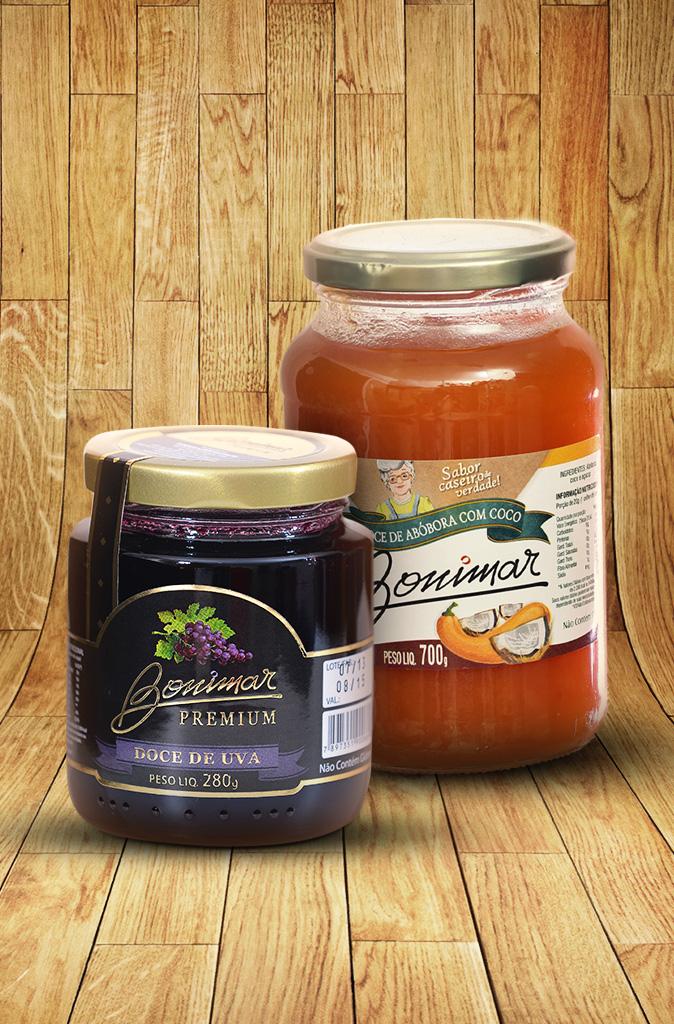 A Marca Bonimar Alimentos é parceira no Portal da Feira de Inverno com conservas.