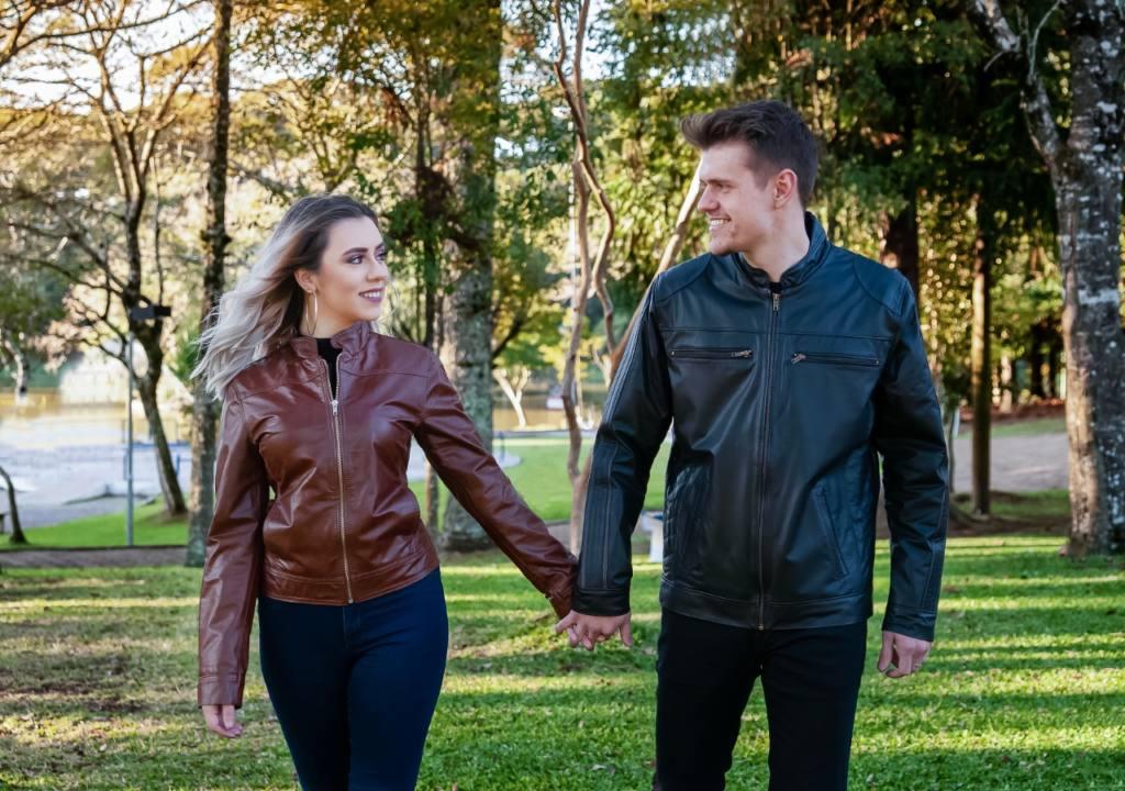 A Hyck Couros tem opções de jaquetas de couro, para ter no armário em todas as épocas do ano