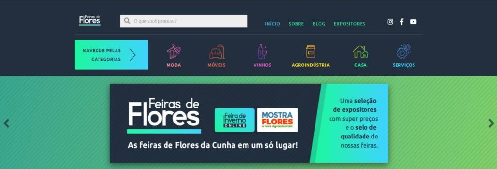 O Portal online da Feira de Inverno é um expositor de diversos segmentos da cidade